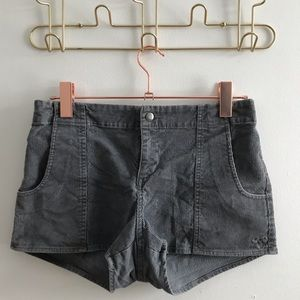Vintage TNA Corduroy Shorts from Aritzia